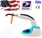 Us Led Dental Curing Light Lamp Teeth Whitening 10w Wireless Cordless 2000mw 10s