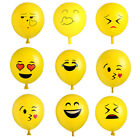 Emoji Smile Latex Ballons Luftballon Kinder Geburtstag Party Balloon LOL Rotfl