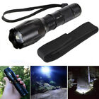 12000LM G700 XML-T6 Zoomable Flashlgiht 5Modes 18650/AAA Torch Lamp Light