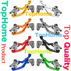 For Kawasaki Suzuki Yamaha Honda KTM CNC Pivot Clutch Brake Levers Dirtbike US