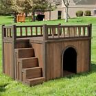 Boomer  George Stair Case Dog House