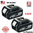 2XNEW 18V 40Ah LITHIUM ION BATTERY LXT FOR MAKITA BL1860B BL1830 US LATEST PACK