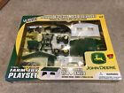 Ertl John Deere Farm Toy Playset 40 Pieces Diecast 1 64 Tractors Shed 2003