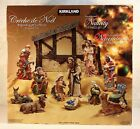 Kirkland Signature Nativity 13 Piece Handpainted Ensemble Set
