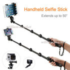 Selfie Stick Monopod+Bluetooth Remote for iPad 2 3 4 Air 2 Tablets Camera Gopro