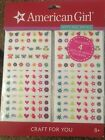Anerican Girl Brand Nails Art Decals Stickers Party Favors Sleepovers BRAND NEW!