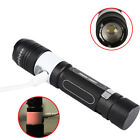Zoomable 15000LM USB 3Mode T6 Led Flahslight Torch 2 in 1 Camping Lantern Lights