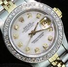 Rolex Lady Datejust Oyster Diamond Dial Bezel  Watch