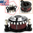 Air Cleaner Intake Filter System Kit For Harley Iron 883 Sportster XL1200 Custom