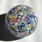 Murano Art glass paperweight made in Italy With Original Sticker