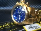 INVICTA Venom Gold Chronograph Fliegeruhr Analog 52mm XXL NEU