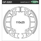 Rear Brake Shoes Fit APRILIA 50 SPORTCITY ONE 2008 2009 2010 S4S