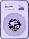 850 Mintage 2018 Star Trek The Original Series Ships 2oz Silver Coin NGC PF69 FR