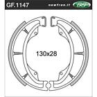 Front Brake Shoes Fit KAWASAKI Z250 LTD BELT DRIVE 1984 1985 S4S