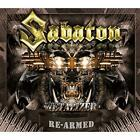 SABATON Metalizer-Re-Armed Edition JAPAN 2CD Stormwind Nocturnal Rites