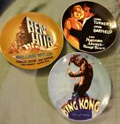 TCM Turner Classic Movie Archives Set of 3 Hollywood Cinema Collector Plates