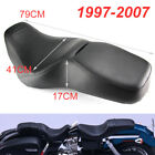 FLHR FLHP Seat Low Pro Wide Double Saddle Leather For1997 2007 Harley Road King