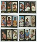 1971-72 Topps TRIOS Complete Set Except #24A - 25 of 26 Cards, Wilt, West, Pete