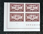2018USA 5282 Forever United States Air Mail Red Plate Block of 4 Mint NH