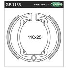 Front Brake Shoes Fit YAMAHA AG100	1987 1988 1989 1990 1991 S4S