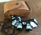 VTG HILTON POWER GUIDE COATED OPTICS BINOCULARS 6x COMPACT TRAVEL W CASE