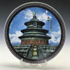 The tian 'anmen pattern of pure handmade painting of Chinese ceramic plates