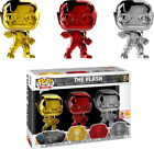 Funko Pop! The Flash: Chrome Shared Exclusive 3-Pack SOLD OUT