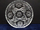 Table Coasters Early American Prescut Clear Glass Star of David Anchor Hocking