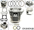 GY6 150cc Cylinder Head Piston Gasket Kit fits ATV Go Kart Moped Scooter E2