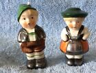 Vintage W Germany Boy And Girl Salt And Pepper