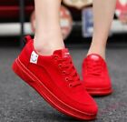 Mens Fashion Lace Up Sneakers Athletic Sports Trainer Outdoor Sports Board Shoes