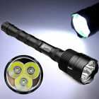 50000Lumens 3 x T6 LED 5 Modes Tactical Police Flashlight Torch Aluminum Hunting