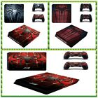 Vinyl Protective Spider Game Skin Sticker Decal For Sony Palystation 4 PS4 Slim