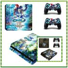 Ys Ⅷ:Lacrimosa of Dana Cover Skin Sticker Decals For Sony Palystation 4 PS4 Slim