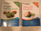 WEIGHT WATCHERS lot COMPLETE FOOD Points Plus DINING OUT 2012 lot of 2