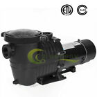 15 2HP 110 240V INGROUND Swimming POOL PUMP MOTOR w Strainer 3450RPM 60HZ