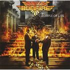 BONFIRE-TEMPLE OF LIES-JAPAN CD Japan with Tracking