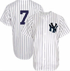 Mickey Mantle #7 Yankees Pin Stripe Men's Jersey All custom Embroidered The Mick