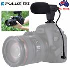 PULUZ 3.5mm Audio Stereo Recording Interview Microphone for DSLR DV SmartphoneW7