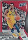 DONOVAN MITCHELL 2018 Panini National VIP NSCC Gold Pack Red Wave # 25 Jazz