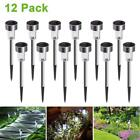 Cynkie Solar Garden Lights Outdoor 12 Pack LED Powered Pathway Lights