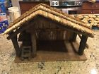 NATIVITY SCENE STABLE MANGER CHRISTMAS HOLIDAY PERFECT WOOD
