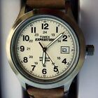 TIMEX T49870 Men's Expedition Leather Strap Watch -- (New in Box; $60+)