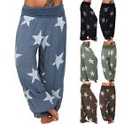 Women Baggy Harem Pants Comfy Yoga Gym Hippie Boho Gypsy Loose Palazzo Trousers