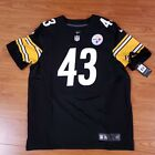 NWT Nike Troy Polamalu Pittsburgh Steelers Authentic On Field Jersey Sz 48 XL
