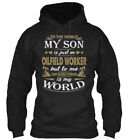 To The World My Son Is Just An Oilfield - Sonis Oil Standard College Hoodie