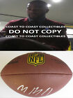Malcolm Butler New England Patriots, Titans signed autographed, football, proof