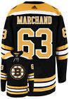 BRAD MARCHAND BOSTON BRUINS ADIDAS AUTHENTIC HOME NHL HOCKEY JERSEY