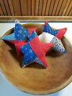 Vintage Patriotic cutter quilt stars red white and blue 6