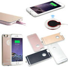 QI Wireless Charging Receiver Charger Gel Back Case For A pple Phone 7 6 6s plus